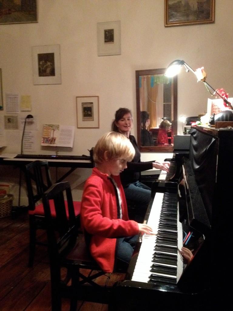 Herre aan de piano