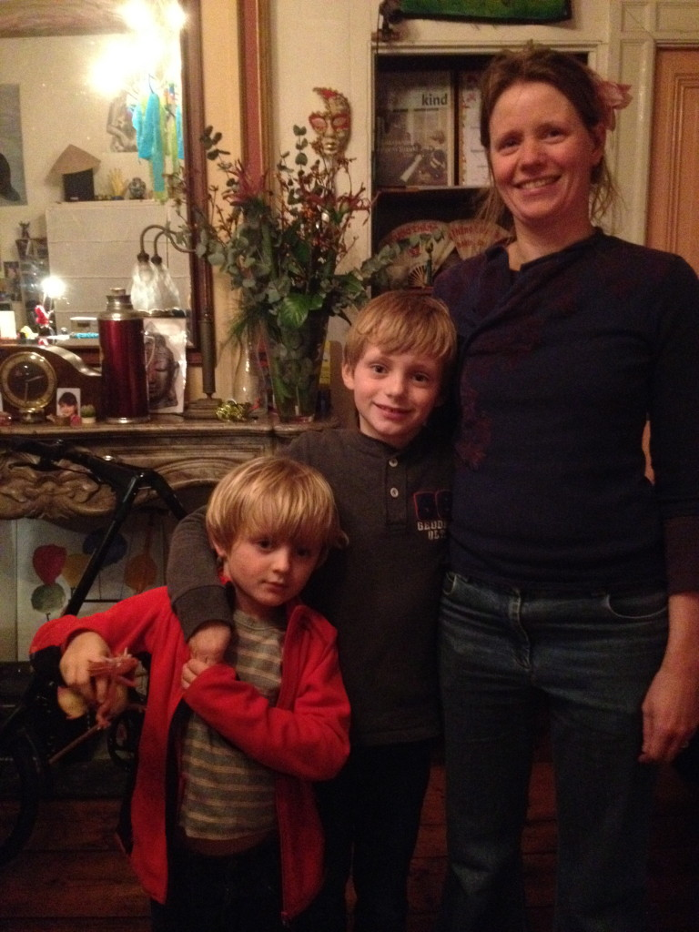 Herre, Jan en hun moeder Karen: laatste les 7 januari 2014