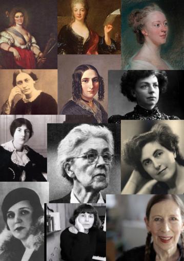 Wat langer geleden vrouwen