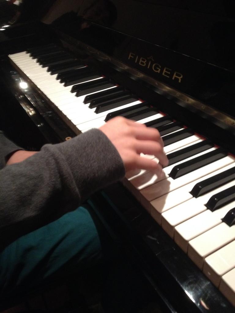 De hand van Jan (foto genomen door Herre)