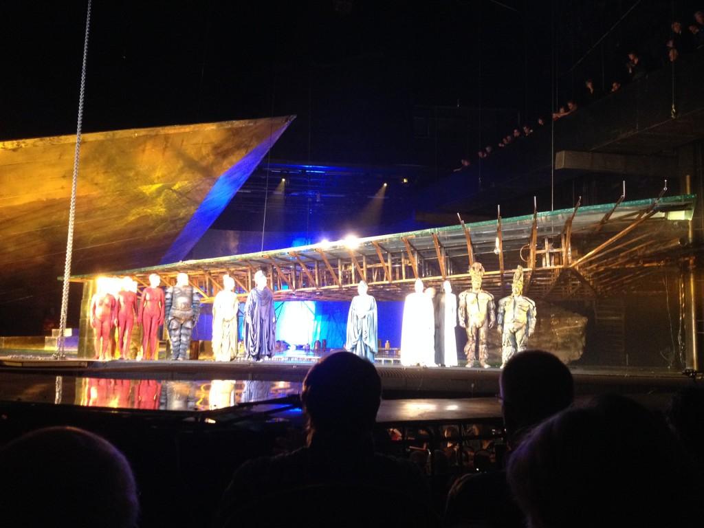 Das Rheingold: het einde van de voorstelling