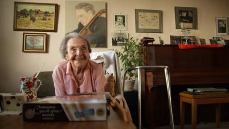 Alice Herz-Sommer op 110-jarige leeftijd