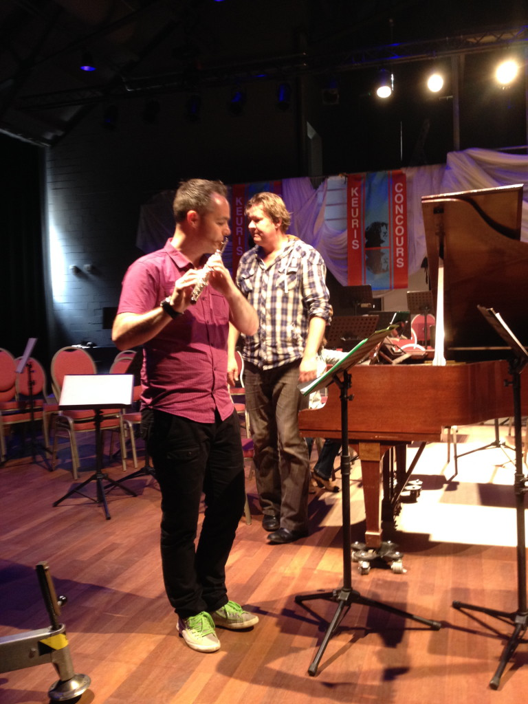 Egbert Jan Louwerse (flute) with Henry Kelder (piano)