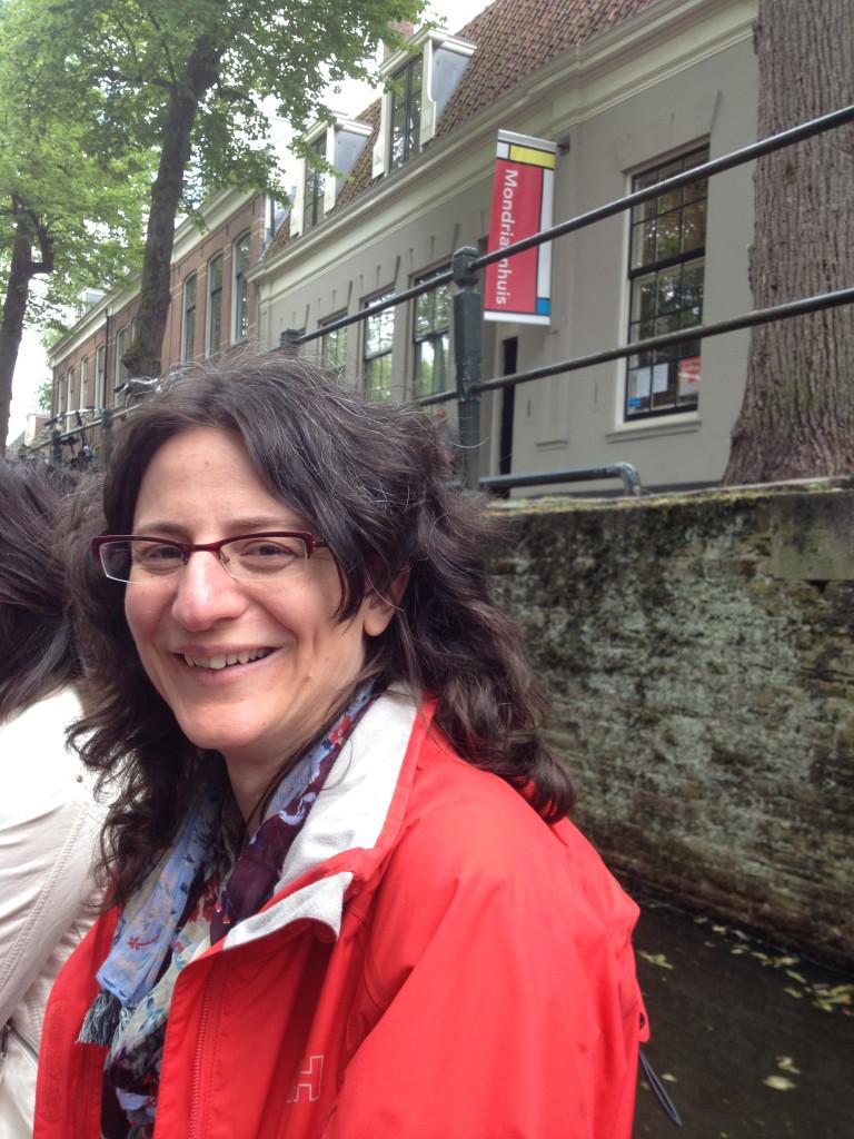 Winning composer Aspasia Nasopoulou