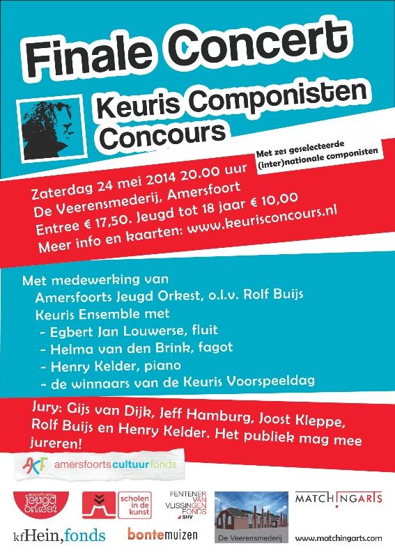 Keuris Componisten Concours 24 mei 2014