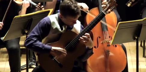 Gitarist Robbert Bekkers speelt Concerto Aranjuez
