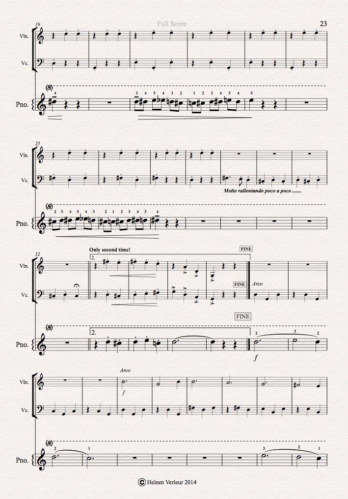 Second page Trio