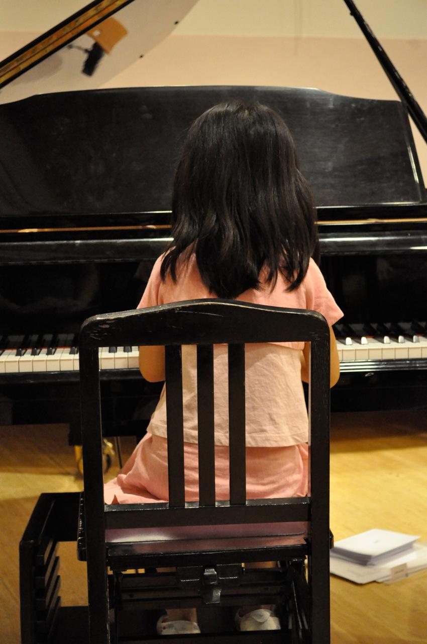 Alyssa tijdens een repetitie voor Sakura
