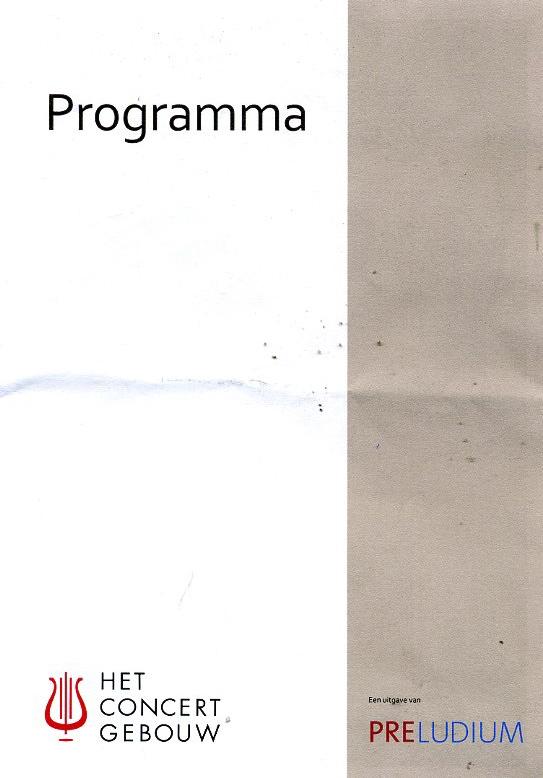 Programma blz.1