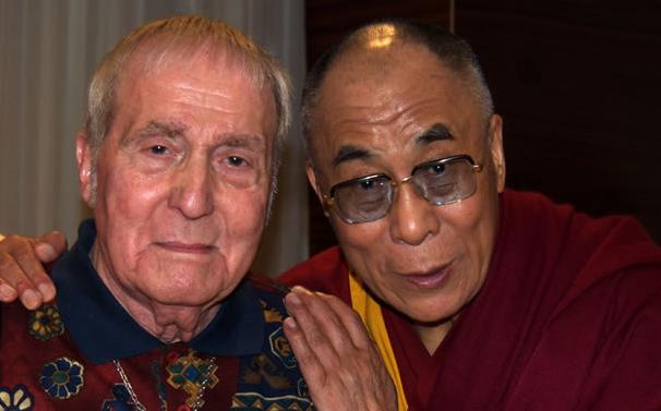 Aldo Ciccolini met de Dalai Lama