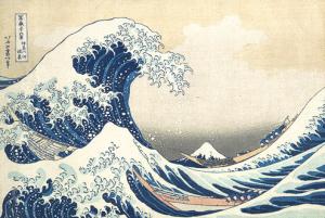The Great Wave at Kanagawa/Katsushika Hokusai