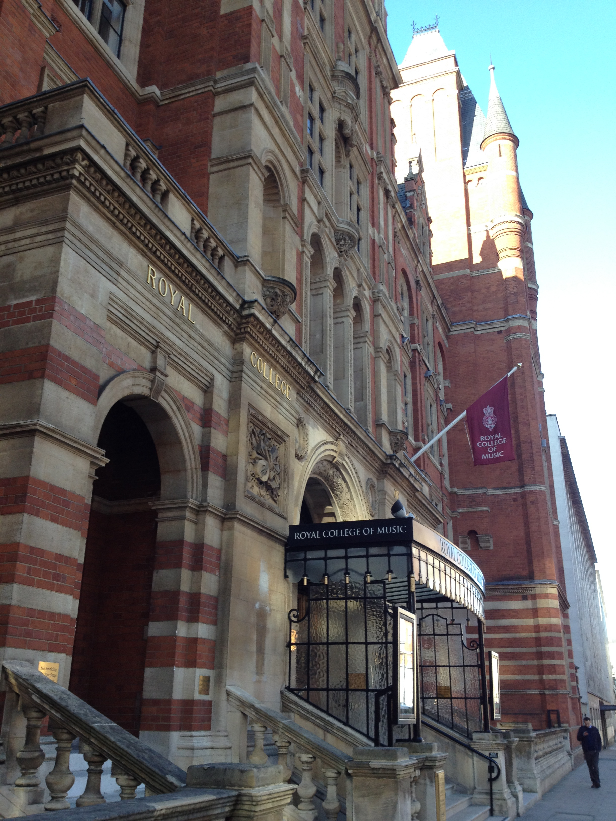 Front of the Royal College of Music