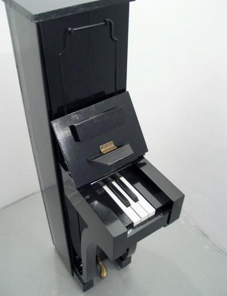 Voor deze piano is al een trio geschreven