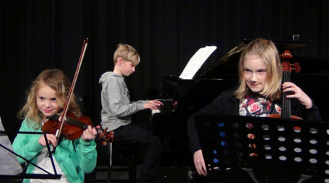 Foto genomen tijdens uitvoering