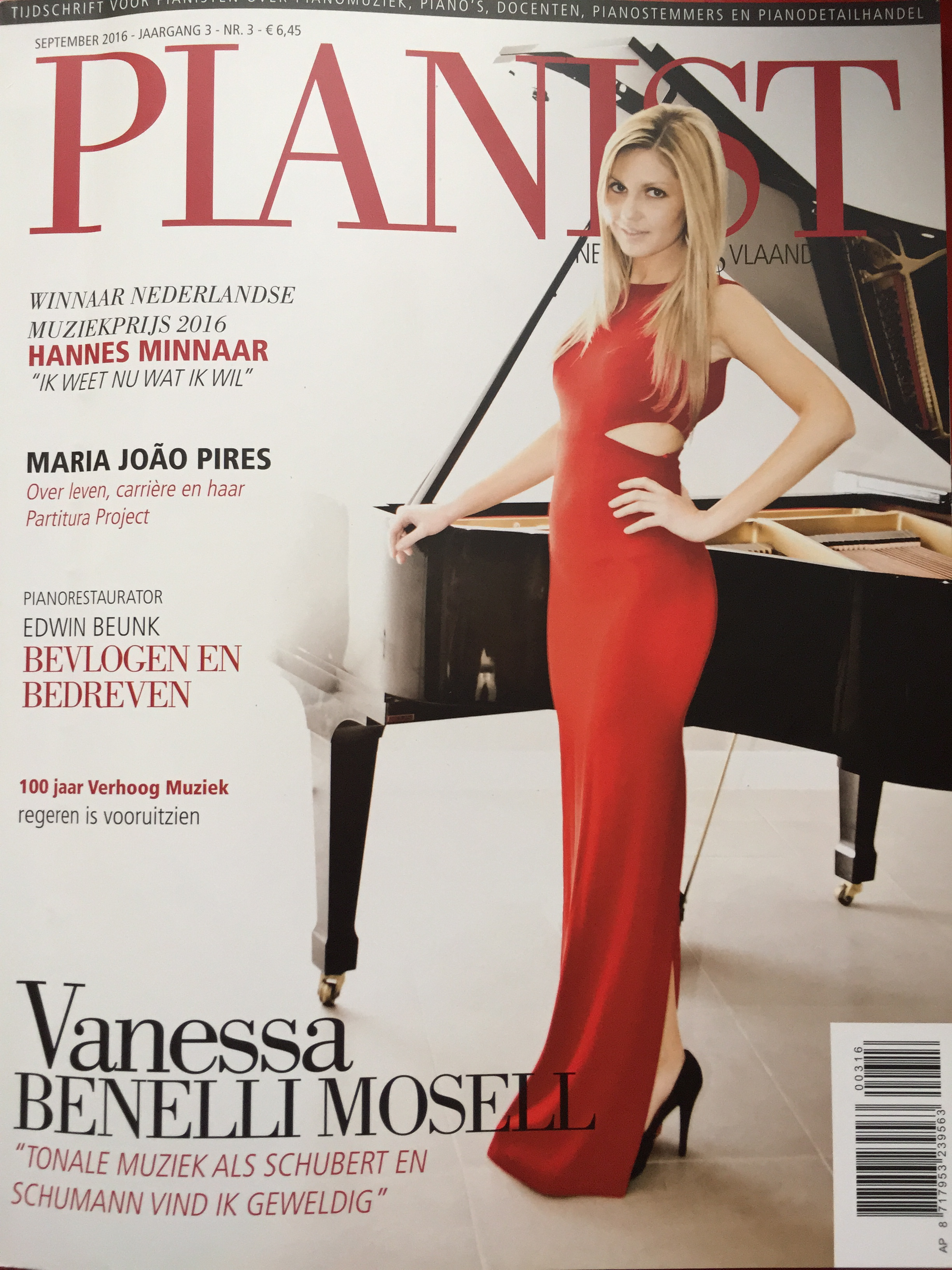 Cover 'Pianist' september 2016