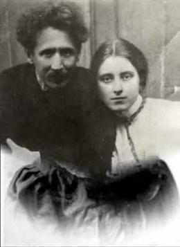 Ciurlionis met zijn allerliefste Sofija