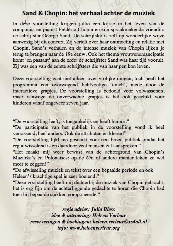 Flyer Den Haag - achterkant