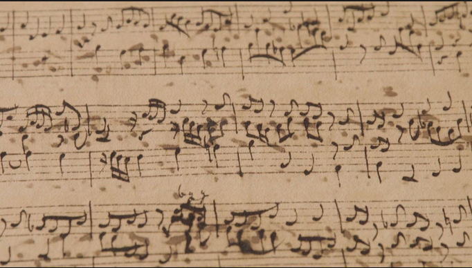 Handwriting Bach