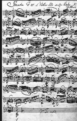 Violin Sonato (section)