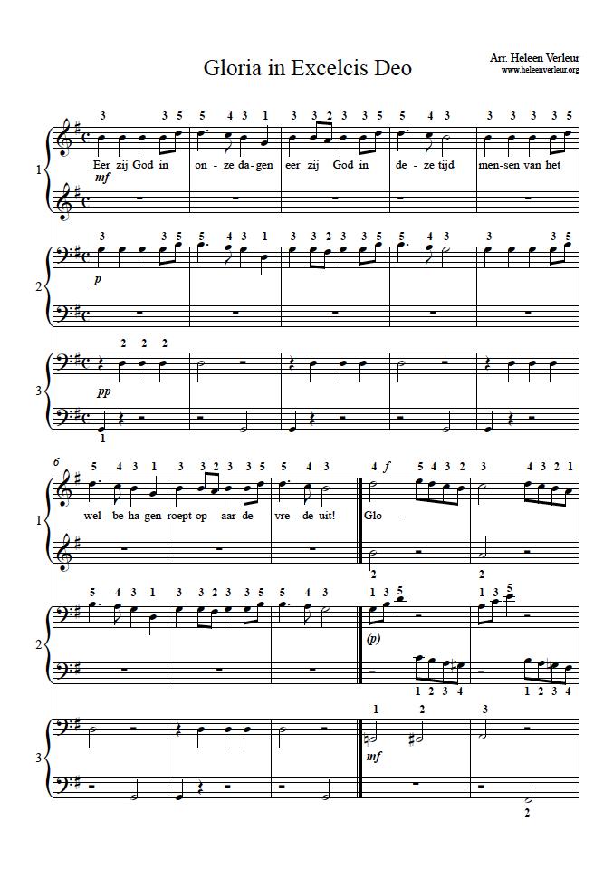 Gloria blz.1